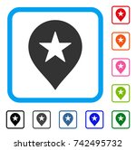star favourites marker icon