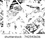 print distress background in... | Shutterstock .eps vector #742543636