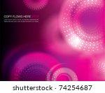 abstract background design | Shutterstock .eps vector #74254687