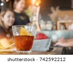 cold drip coffee brew in coffee ... | Shutterstock . vector #742592212