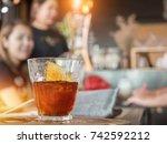 cold drip coffee brew in coffee ...   Shutterstock . vector #742592212