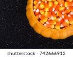 Ceramic Pumpkin Bowl Filled...