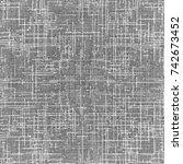gray textured background ... | Shutterstock . vector #742673452