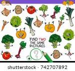 cartoon vector illustration of... | Shutterstock .eps vector #742707892