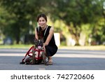 Dog With Owner Spend A Day At...