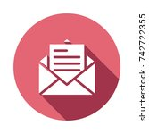 email icon | Shutterstock .eps vector #742722355