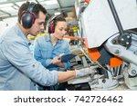 construction material provider | Shutterstock . vector #742726462