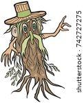 forest spirit  leshy  a...   Shutterstock .eps vector #742727275