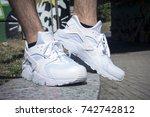 milan  italy   july 22  2017 ...   Shutterstock . vector #742742812