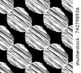 polka dot seamless pattern.... | Shutterstock .eps vector #742798936