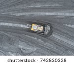 open pit mine  breed sorting.... | Shutterstock . vector #742830328