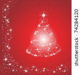 christmas tree | Shutterstock . vector #74284120