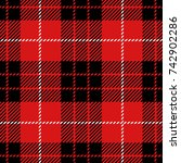 clan munro scottish woven... | Shutterstock .eps vector #742902286