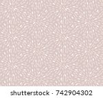 rose color abstract rice... | Shutterstock .eps vector #742904302