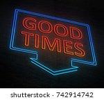 3d illustration depicting an... | Shutterstock . vector #742914742