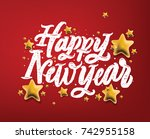 "calligraphic ""happy new year""... 