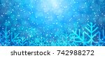 winter background | Shutterstock .eps vector #742988272