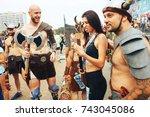 minsk  belarus.september 10... | Shutterstock . vector #743045086