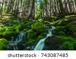 Waterfalls Mount Rainier National Park - Fine Art prints