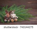 Christmas Stuffed Toys   A Deer ...