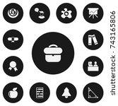 set of 13 editable teach icons. ...