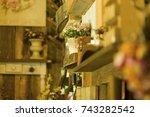 dried flower | Shutterstock . vector #743282542