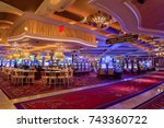 las vegas   july 12   the... | Shutterstock . vector #743360722