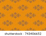Abstract Arabesque Background...