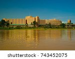 View To Niger River And Niamey...