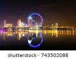 singapore | Shutterstock . vector #743502088