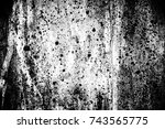 abstract background. monochrome ... | Shutterstock . vector #743565775