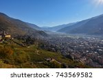 the valley | Shutterstock . vector #743569582