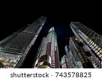 buildings low angle view   Shutterstock . vector #743578825