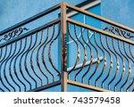 Iron Fence On Balcony