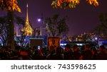 bangkok  thailand   october 26  ... | Shutterstock . vector #743598625