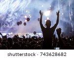 thessaloniki   greece   sept 17 ... | Shutterstock . vector #743628682
