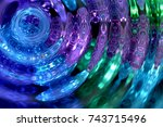 Rippled Aquatic Effect With...