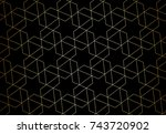 seamless linear pattern with... | Shutterstock .eps vector #743720902