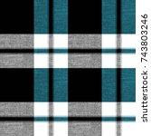 Seamless Tartan Plaid Pattern...
