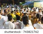 trang  thailand   october 28 ... | Shutterstock . vector #743821762