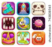 funny cartoon app icons for...