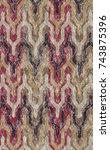 geometry texture pattern modern    Shutterstock . vector #743875396