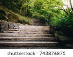 Stone Stairs In The Beautiful...
