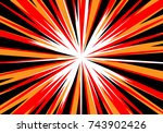 Abstract Radial Zoom Speed...