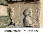 statue in persepolis   Shutterstock . vector #743945422