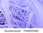 abstract random patterns from...   Shutterstock . vector #744005482