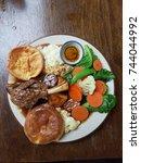 Small photo of Roast lamb dinner plate