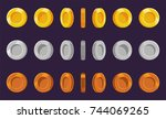 coin sprite sheet. a set of...
