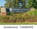 st. paul  mn usa   september 22 ...   Shutterstock . vector #744084502