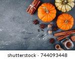 Pumpkin Pie Spice. Top View